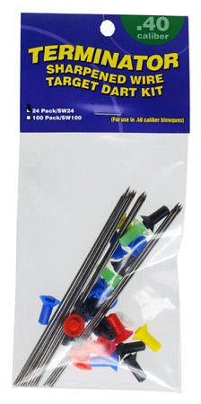 24-pc. Sharpened Wire Target Dart Kit