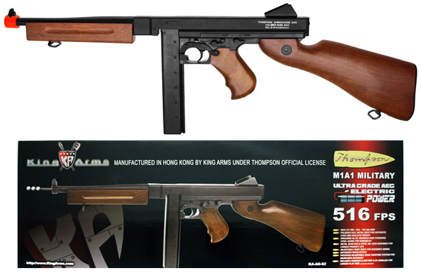 Thompson M1a1 Tactical