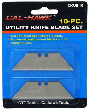 10-pc. Utility Knife Blades