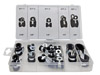 18-pc. Rubber Insulated Clamps
