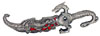 "10"" Dragon Knife - Red"