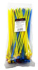 """100-pc. 10"""" Colored Zip Cable Ties"""
