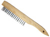 "10"" Wood Handle Wire Brush"