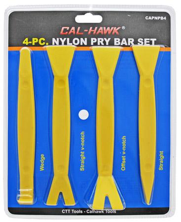 4-pc. Nylon Pry Bar Set
