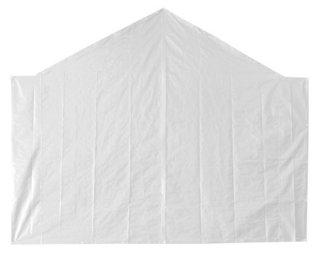 End Tarp for 20' Opening - White