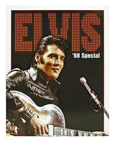 Elvis '68 Special Metal Sign
