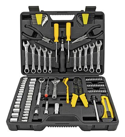 Ultra Steel 135 pc. Automotive and Garage Multi-Purpose Tool Kit
