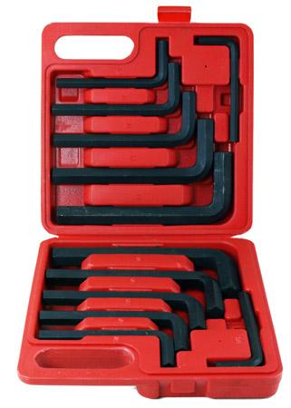 12-pc. Jumbo Hex Key Wrench Set