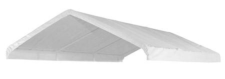 20 x 20 Valance Canopy Tarp - White