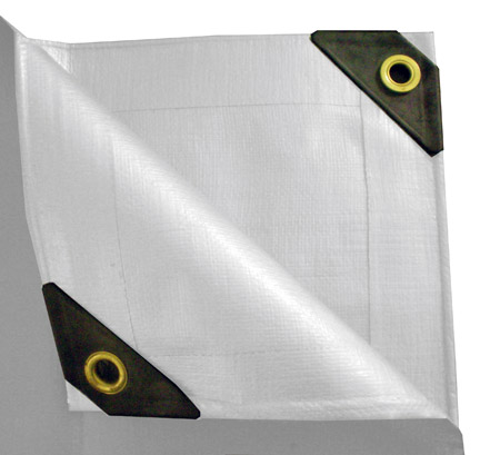 10 x 16 Heavy Duty Canopy Tarp - White