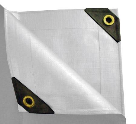 10 x 40 Heavy Duty Canopy Tarp - White