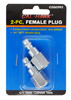 2-pc. Female Plug