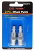 2-pc. Male Plug