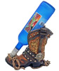 Western Vintage Boot Wine Holder