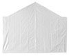 End Tarp for 10' Opening - White