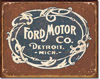 Ford Historic Logo Tin Sign