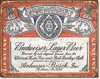 Budweiser Logo History Tin Sign
