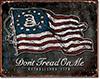 Don't Tread on Me - Vintage Flag Tin Sign
