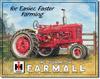 Farmall M Tin Sign