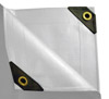 10 x 16 Heavy Duty Canopy Tarp - White