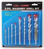 8-pc. Masonry Drill Bit