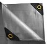 24 x 24 Heavy Duty Canopy Tarp - Silver