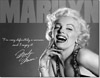 "Marilyn Monroe - ""Definitely"" Tin Sign"