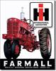 IH Farmall Tractors Tin Sign
