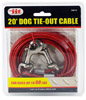 20' Dog Tie-Out Cable