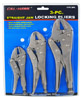 3-pc. Straight Jaw Locking Pliers