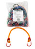 """20-pc. 18"""" Color Bungee Tie Down"""