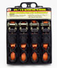 """4-pc. 15' x 1"""" Ratcheting Tie Downs"""
