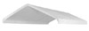 20 x 40 Valance Canopy Tarp - White