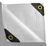 6 x 10 Heavy Duty Canopy Tarp - White