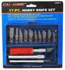 17-pc. Hobby Knife Set