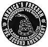 America's Freedom the Second Amendment Tin Sign